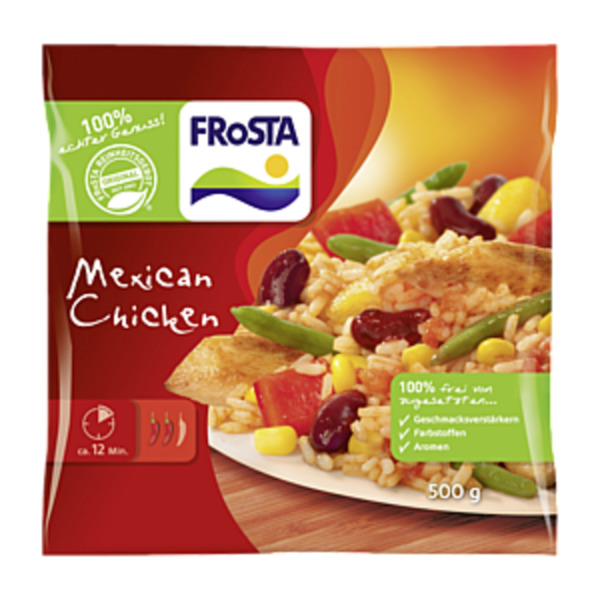 frosta mexican chicken 500g von rewe ansehen. Black Bedroom Furniture Sets. Home Design Ideas