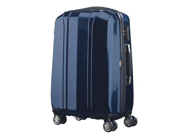 topmove polycarbonat kofferset blau 2 teilig von lidl. Black Bedroom Furniture Sets. Home Design Ideas