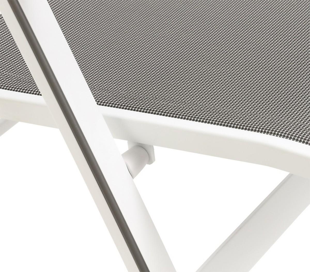 mwh klappsessel elements wei von dehner ansehen. Black Bedroom Furniture Sets. Home Design Ideas