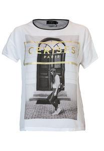 Le Temps Des Cerises - Damen T-Shirt, white