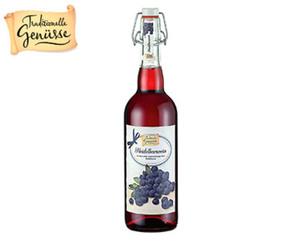 TRADITIONELLE GENÜSSE Fruchtwein in der Bügelflasche