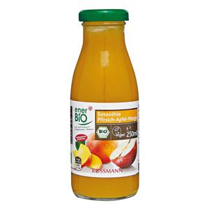 enerBiO              Bio Smoothie Pfirsich-Apfel-Mango