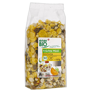 enerBiO              Bio Früchte Müsli