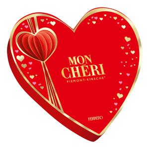 Ferrero Mon Chéri              in Herz-Geschenkpackung