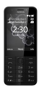 MICROSOFT  Nokia 230 Dual-SIM schwarz-silber