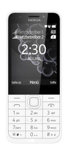 MICROSOFT Nokia 230 Dual-SIM silber