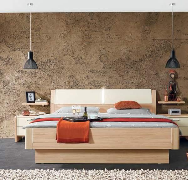 schlafzimmer wildahorn nachbildung lack creme von porta m bel ansehen. Black Bedroom Furniture Sets. Home Design Ideas