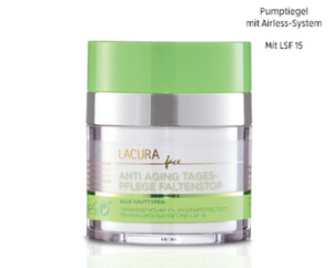 LACURA FACE Anti Aging Tages- und Nachtpflege FaltenStop