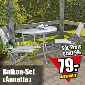 Balkon-Set »Annette«