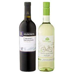 Italien Mezzacorona oder Deutschland/Pfalz Landlust Bio-Wein
