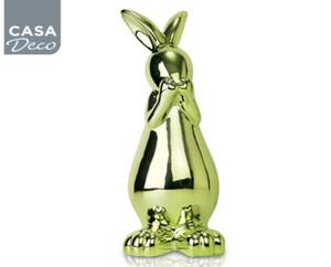 CASA DECO® Osterkeramik, metallic