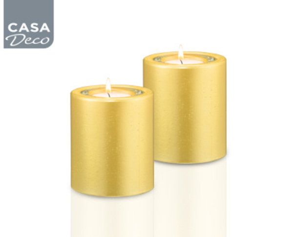 Casa deco teelichthalter aus echtwachs von aldi s d ansehen for Aldi kerzenhalter