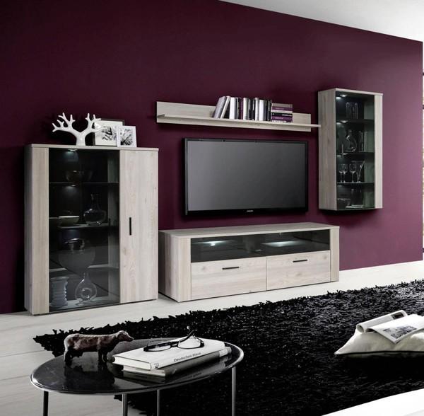 Stylische Wohnwand ~ Kreative Bilder Für Zu Hause Design-Inspiration