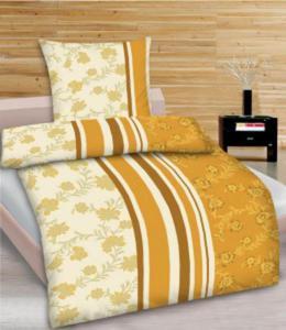Satin-Bettwäsche-Garnitur, extragroß