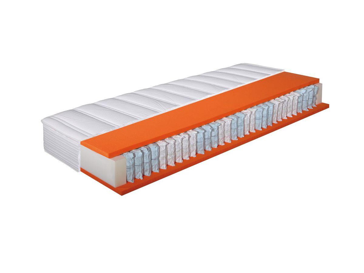 Bild 2 von Hn8 Schlafsysteme 7-Zonen Tonnen-Taschenfederkernmatratze Dynamic TFK