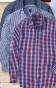 Royal Berkshire Polo Herren Langarm-Hemd