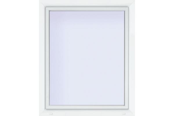 Euronorm Kunststoff-Fenster 70/3s weiss,  1000x600mm DIN rechts, Uw 0,9w/M²K