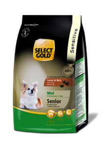 SELECT GOLD Sensitive Senior Mini Lamm & Reis