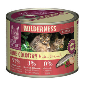 REAL NATURE WILDERNESS Kitten 6x200g