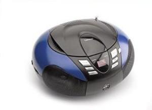 LENCO Radiorecorder SCD-37 MP3 blau