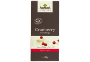 Cranberry Schokolade