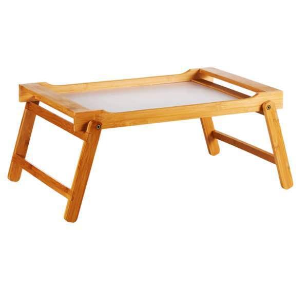 Tablett Holz Holztablett Serviertablett Betttablett Kissen Laptopunterlage XXL