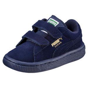 2 Straps Suede Sneaker