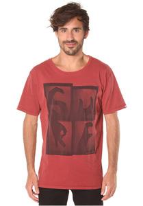 Ocean & Earth Surf Fashion Fit - T-Shirt für Herren - Rot
