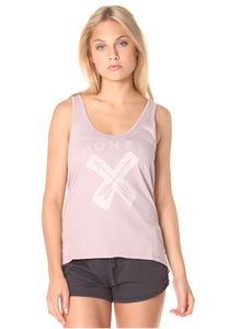 Ocean & Earth Come Together Singlet - Top für Damen - Lila