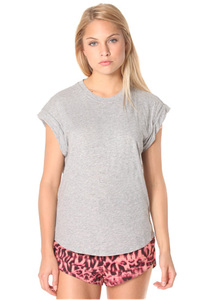 Rusty Blank Rolled - T-Shirt für Damen - Grau