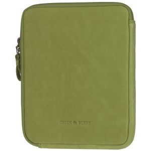 Greenburry - Colorado iPad Case Leder 21,5 cm, lime