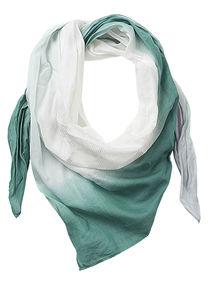 Betty Barclay - Damenschal, White/Green - Weiß