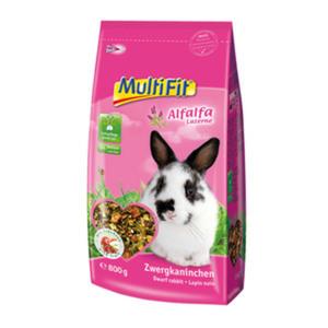 MultiFit für Zwergkaninchen mit Alfalfa