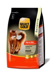 SELECT GOLD Sensitive Adult Hair & Skin Geflügel & Lachs