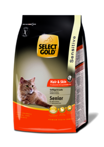 SELECT GOLD Sensitive Senior Hair&Skin Geflügel & Lachs