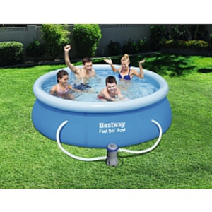 Sizzlin Cool Easy Set Pool 244cm x 66 cm mit Pumpe