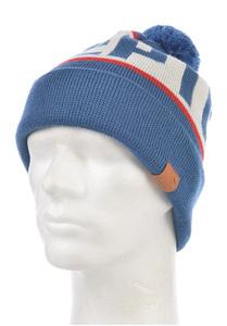 Cleptomanicx Bold Snow - Mütze Blau