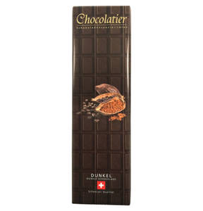 Chocolatier   Original Schweizer Schokolade Zartbitter 300g