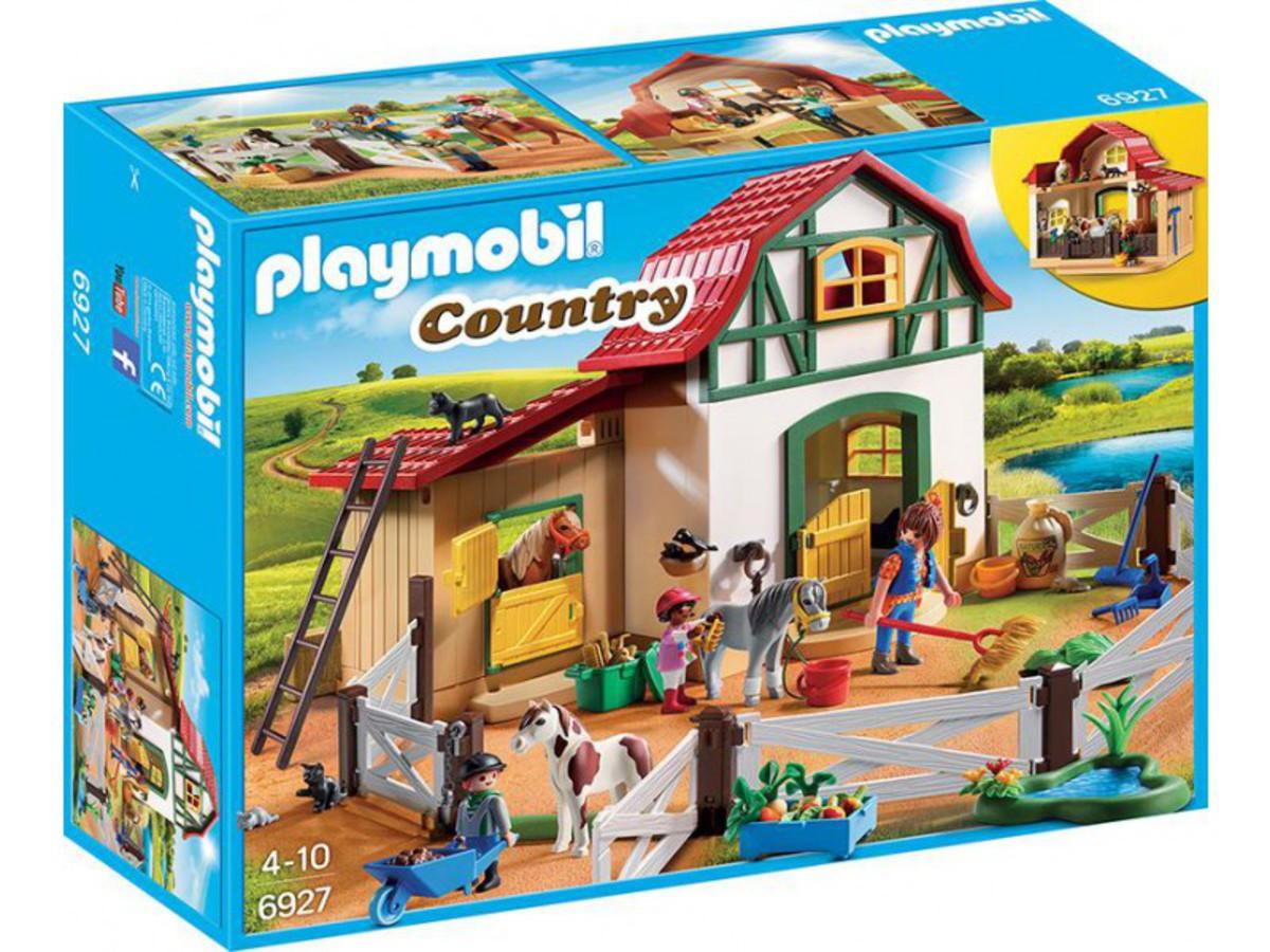 Bild 1 von PLAYMOBIL® 6927 Country Ponyhof