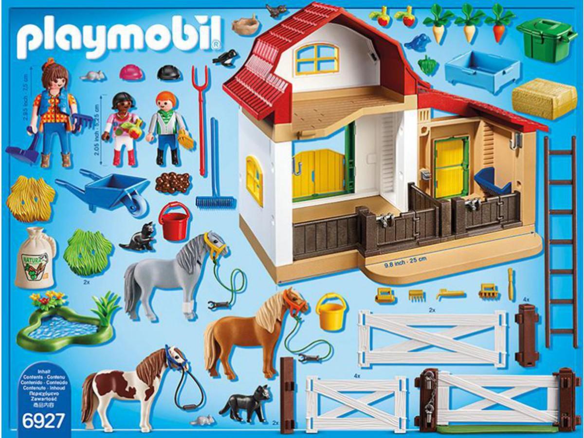 Bild 2 von PLAYMOBIL® 6927 Country Ponyhof