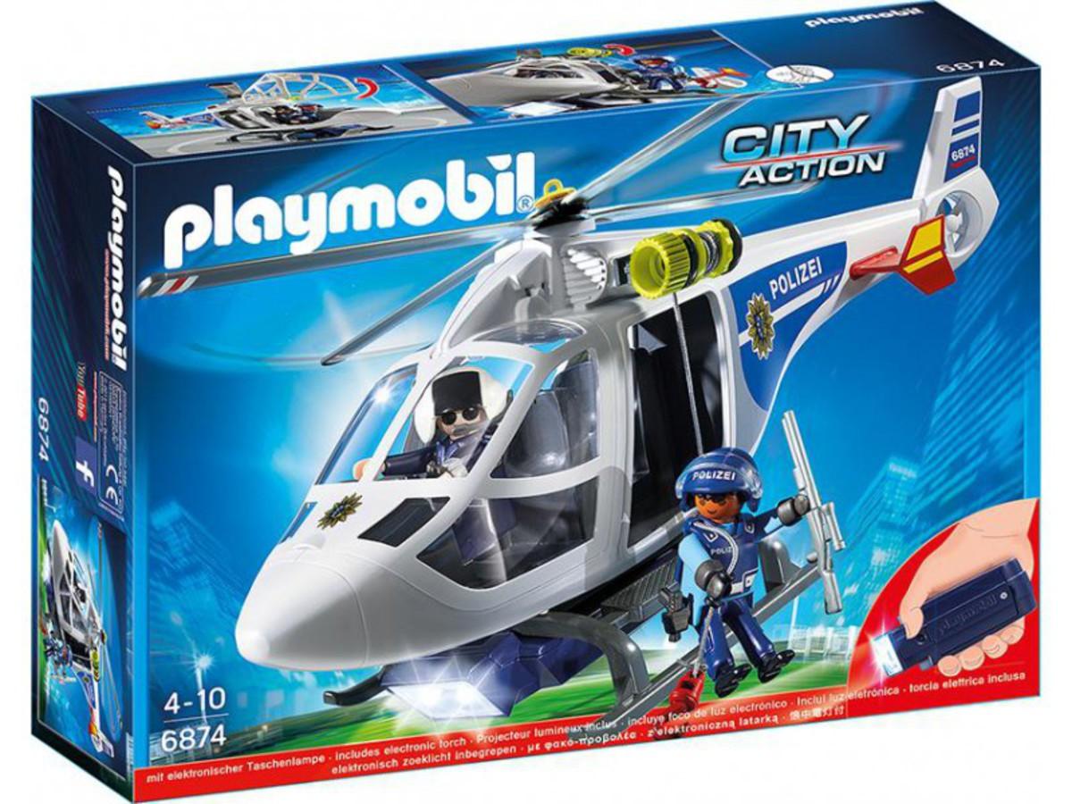 Bild 1 von PLAYMOBIL® 6874 Polizei-Helikopter