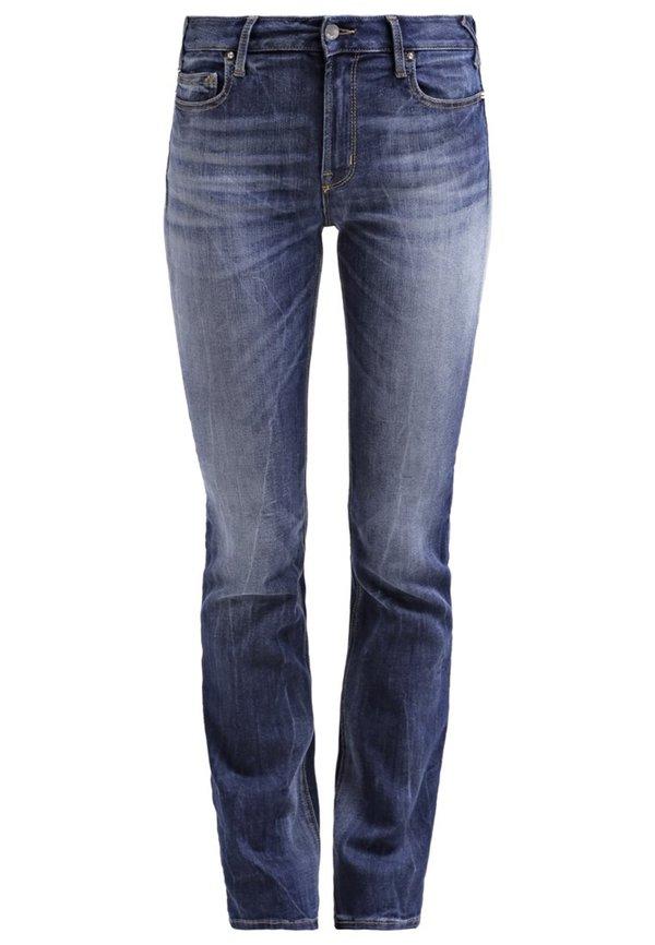 met xmaine jeans bootcut blue denim von zalando ansehen. Black Bedroom Furniture Sets. Home Design Ideas