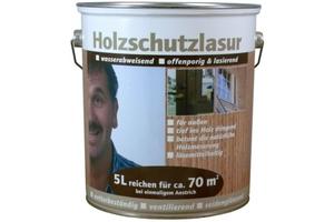 Holzschutzlasur  teak seidenglänzend, 5 l