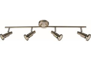 TrendLine LED 4er Spot Energy  Nickel