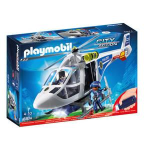 PLAYMOBIL®   Polizei-Helikopter mit Licht 6874