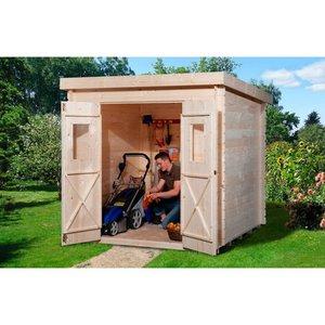 OBI Holz-Gartenhaus Cortina A 200 cm x 150 cm