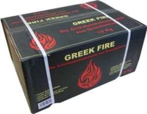 Greek Fire Premium Grill-Holzkohlebriketts