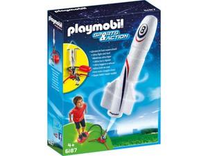 Playmobil® 6187 Rakete mit Spring-Booster