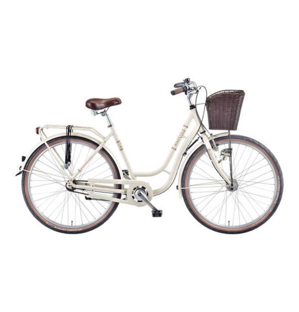excelsior fahrrad trend city bike mit alu rahmen im retrostyle flechtkorb 28 von galeria. Black Bedroom Furniture Sets. Home Design Ideas