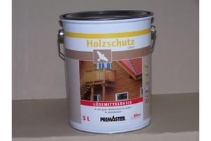 Primaster Holzschutzlasur lösemittelhaltig palisander 5 l